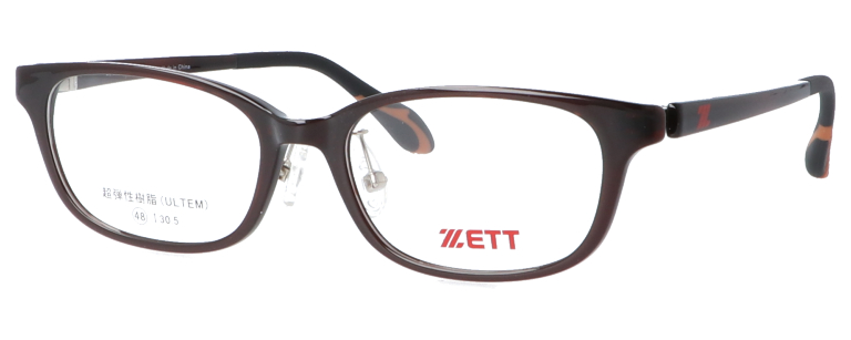 メガネ:ZETT(ZT-208)